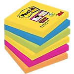 Notes Post it 76 x 76 mm Assortiti 6 unità da 90 fogli