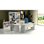 Postazione lavoro Home Office Bianco 1.830 x 1.320 x 720 mm