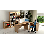 Postazione lavoro Home Office Noce 1.830 x 1.320 x 720 mm