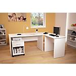 Set mobili da ufficio Bianco 430 mm