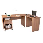 Set mobili da ufficio Noce 430 mm