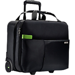Trolley Leitz Carry on Smart Traveller 15 pollici poliestere nero 41 x 13 x 31 cm