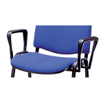 Braccioli per sedie Dado nero 2 unità