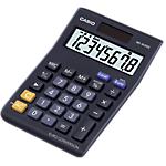 Calcolatrice Casio MS 8VERII solare e batteria nero