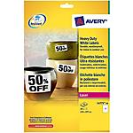 Etichette multifunzione Avery L4731Rev 25 Bianco 4725 etichette 25 Fogli