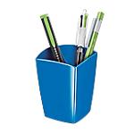 Portapenne CEP Glossy Blu plastica 14,3 x 15,8 x 9,3 cm