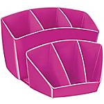 Portapenne CEP Glossy Rosa plastica 14,3 x 15,8 x 9,3 cm