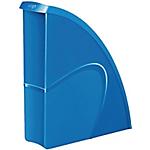 Portariviste CEP Glossy Blu 24 x 32 cm polistirene 8,5 x 31 x 27 cm