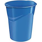 Cestino gettacarta CEP Glossy Blu 30,5 x 29 x 33,4 cm