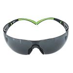 Occhiali di protezione 3M SF402AFEU One Size policarbonato grigio verde