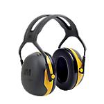 Cuffia temporale 3M Peltor X2A Gommapiuma industria nero giallo