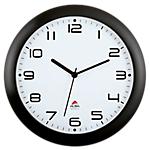 Orologio da parete al quarzo Alba 30 x 30 x 30 cm nero bianco