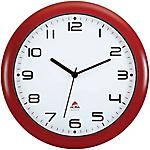 Alba orologio da parete al quarzo 30 x 30 x 30 cm rosso bianco