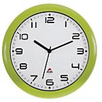 Orologio da parete al quarzo Alba 30 x 5,5 cm verde bianco