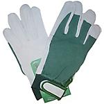Guanti Di protezione Pelle di cinghiale taglia 9 bianco verde