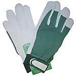 Guanti Di protezione Pelle di cinghiale taglia 10 bianco verde