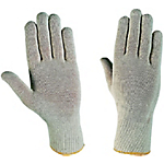 Guanti Cotone a maglia taglia 10 grigio