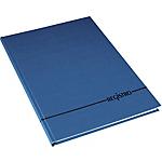 Registro Copertina rigida Blu A righe A4 29,7 x 21 cm 200 fogli