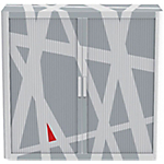 Armadio Paperflow grigio 1.040 x 1.100 x 415 mm