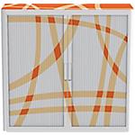 Armadio Paperflow arancione 1.040 x 1.100 x 415 mm