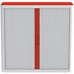 Armadio Paperflow grigio rosso 1.040 x 1.100 x 415 mm