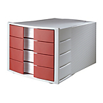Cassettiera HAN Rosso 29,4 x 38 x 23,5 cm