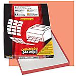 Etichette adesive multiuso Markin A425 bianco A4 6,4 x 3,4 cm 70 g