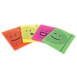 Cartella Fellowes Shock 'N' Smile cartone 30,5 (h) cm assortiti 4 unità