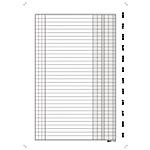 Scadenziario spiralato Edipro Gen Dic bianco 29,7 (h) x 21 (l) cm