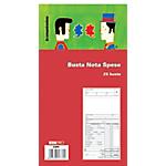Blocco buste nota spesa Edipro E5777 bianco 15 x 28 cm 25 unità