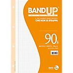 Ricambi rinforzati BM BandUP Bianco Q 4 fori A4 29,7 x 21 cm 90 g