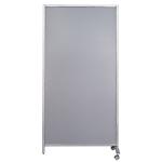 Parete divisoria magentica Serena WAL804017G grigio A4 80 x 40 x 170 cm