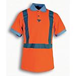 Maglietta Polo SEBA HV poliestere taglia xl arancione