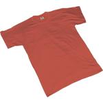 Maglietta SEBA 464R cotone taglia l rosso