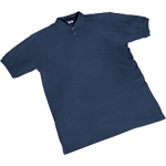 Maglietta a manica corta SEBA Piquet cotone taglia m blu
