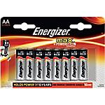 Pile Alcaline Energizer Max Stilo AA 12 unità