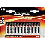 Pile Energizer Max Mini Stilo AAA 12 unità