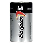 Pile Alcaline Energizer D D 2 unità