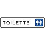 Segnaletica Markin toilette donne