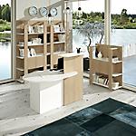 Bancone Artexport 17110 rovere chiaro, bianco cera 1.425 x 830 x 1.170 mm