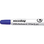Marcatori per lavagne bianche Niceday WCM1 5 a scalpello 5 mm blu