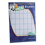 Etichette autoadesive Tico Bianco 10 etichette 10 Fogli