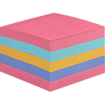 Foglietti Super Sticky Post it 76 x 76 mm Assortiti 440 fogli