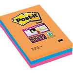 Notes riposizionabili Post it 101 x 152 mm Assortiti 3 unità da 90 strappi