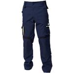 Pantaloni SiGGi WORKWEAR Explorer Poliestere, cotone taglia m blu