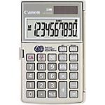Calcolatrice tascabile Canon LS 10TEG a batteria, solare grigio