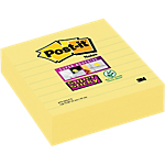 Foglietti Post it 101 x 101 mm Giallo canary 3 unità da 70 strappi