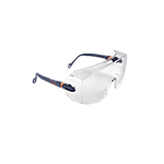 Occhiali di protezione 3M 2800 One Size policarbonato blu