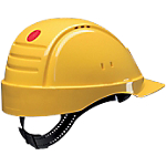 Elmetto di protezione 3M G2000DUV ABS giallo