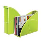 Portariviste CEP Gloss verde A4 polistirene 27 (l) x 8,5 (p) x 31 (h) cm Documenti in formato A4